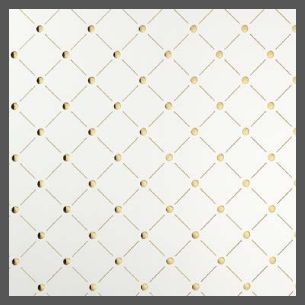 PUNCH LINE 3D - PL 3D H-10-30 Pearl White/Gold
